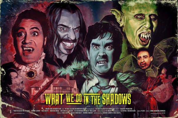 What We Do In the Shadows by Graham Humphreys